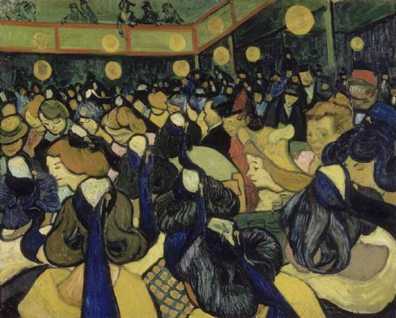 Van Gogh, Vincent: The Dance Hall in Arles. Fine Art Print/Poster. (004140)
